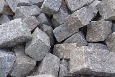 Schwarzwälder-Granit Trockenmauersteine