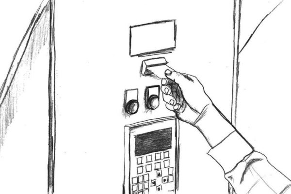 3. Mischvorgang starten - Geben Sie Ihre Chipkarte in den Kartenleser und starten den Mischvorgang durch drücken des grünen Knopfes.