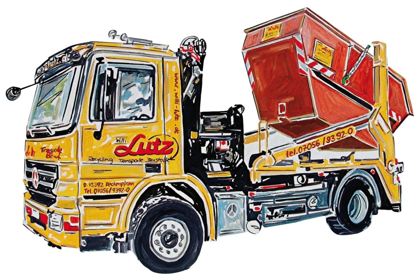 Lutz LKW mit Container